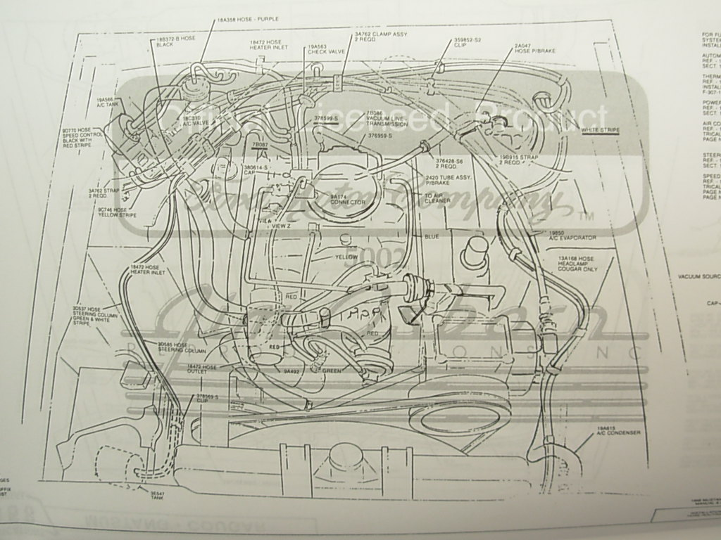 assembly manual chassis repro ~ 1969 mercury cougar (25884) at 67 Cougar XR 7 Wire Diagram 1969 cougar wiring diagram