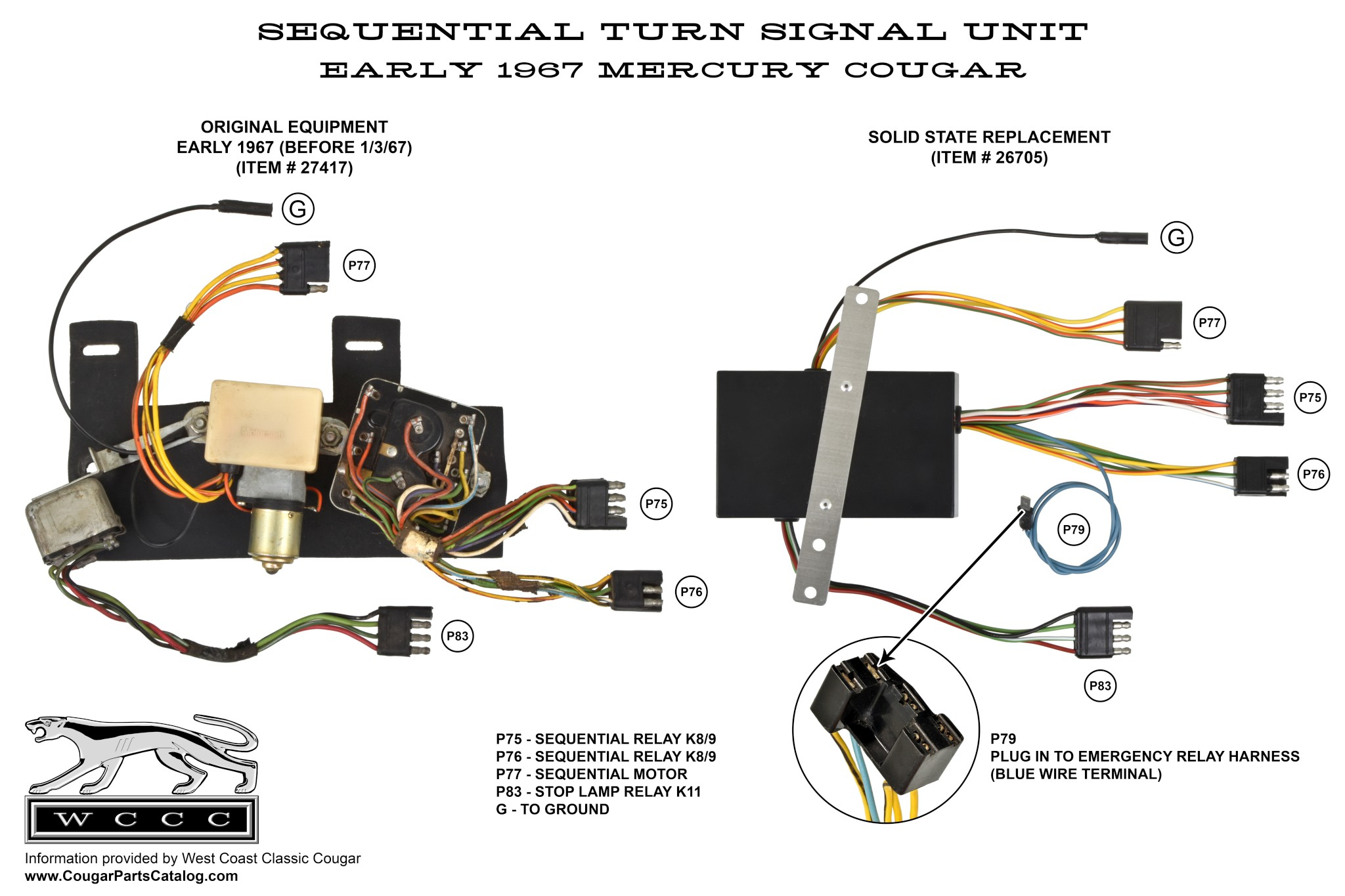 Turn Signal Sequential Unit Solid State Early Before 1 3 67 Electrical Directional Relay Note Need Help Diagnosing A Cougar Problem Victor Yarberry Is The Worlds Most Knowledgeable Expert On Subject